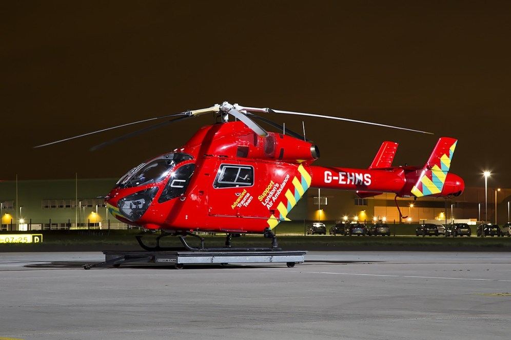 © Adam Duffield • London Air Ambulance MD-902 G-EHMS • Northolt Nightshoot XVII