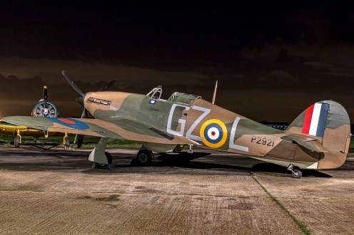 © Paul Smith • Hurricane MkI AE977 • Biggin Hill Heritage Hangar Nightshoot