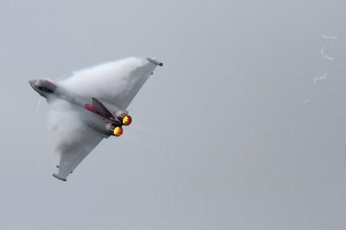 © Mic Lovering • RAF Typhoon Solo • RAF Cosford Air Show 2015