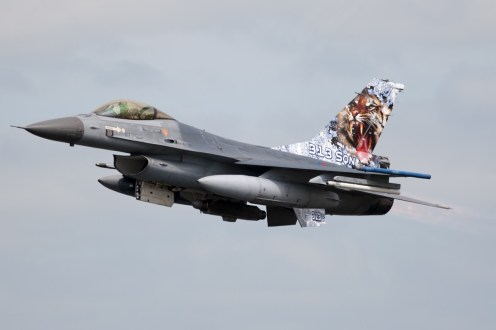 © Duncan Monk • RNLAF F-16AM • NATO Tiger Meet 2014