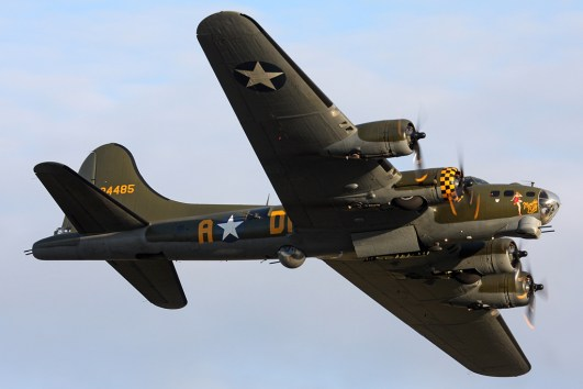 © Ben Montgomery - Boeing B-17G Flying Fortress • 8th Air Force