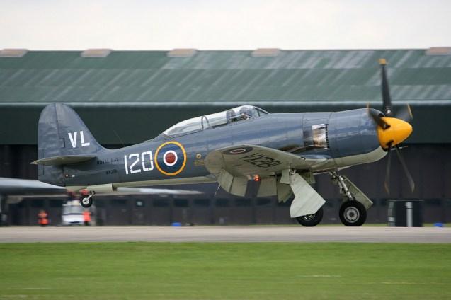 © Mark Graham - Hawker Sea Fury T20 • RAF Yeovilton, UK