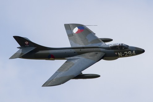 © Adam Duffield • Hawker Hunter F6 N-294/G-KAXF • Luchtmachtdagen 2014