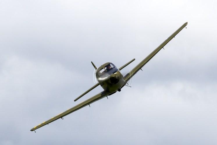 © Adam Duffield • North American Aviation NA-145 Navion 60344 / N4956C • Old Buckenham Airshow 2014