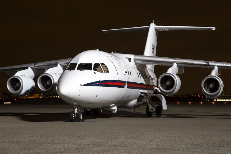© Adam Duffield • BAE 146 ZE701 • Northolt Nightshoot XVII
