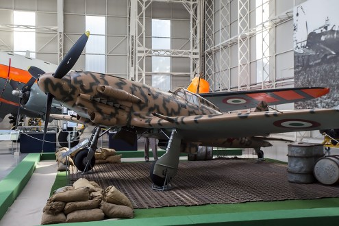 © Adam Duffield • Macchi MC.205 Veltro MM9546 • Italian Air Force Museum