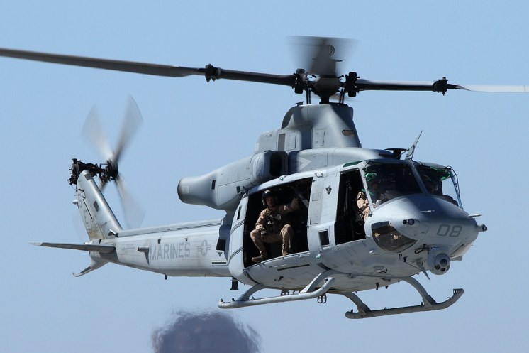 © Mark Forest • Bell UH-1Y Venom • Marine Corps Base Camp Pendleton