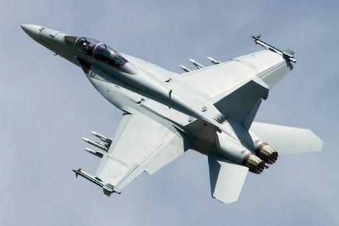 © Adam Duffield • Boeing F/A-18F Super Hornet • Royal International Air Tattoo (RIAT) - RAF Fairford, UK