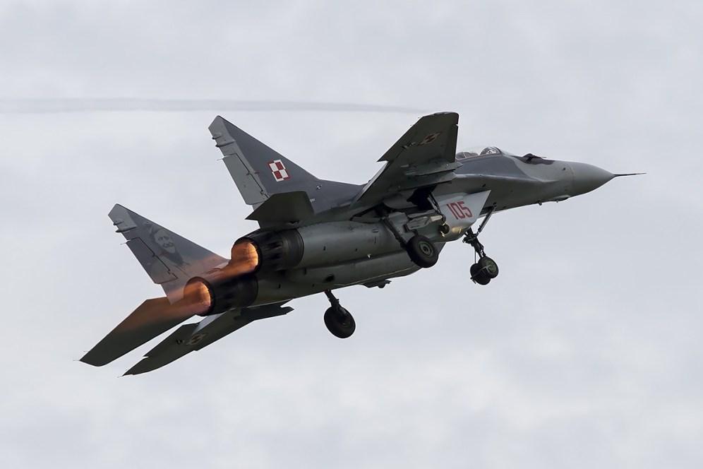© Adam Duffield • Polish Air Force Mig-29 • Air14 Payerne Weekend 1