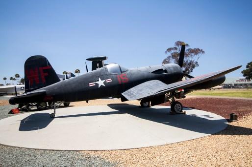 © Adam Duffield • Vought Corsair F4U 122189 - Flying Leatherneck Air Museum