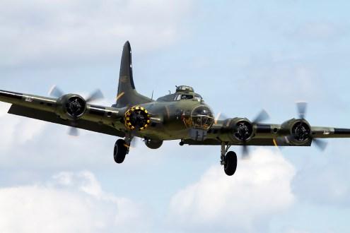 © Adam Duffield • Boeing B-17G • Waddington Airshow 2014