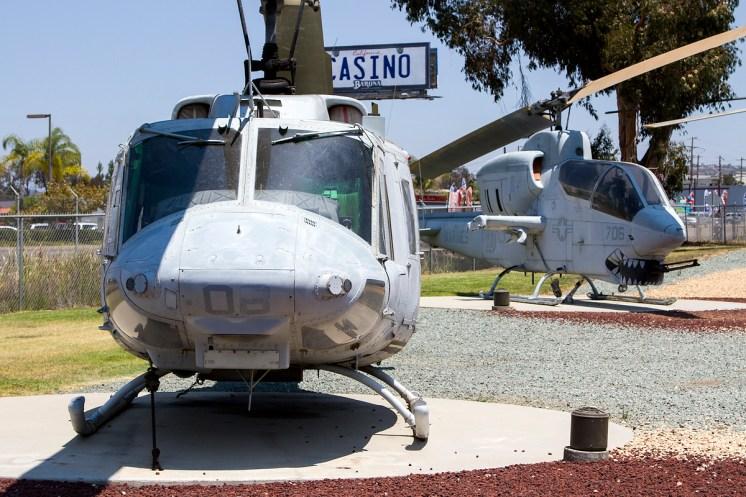 © Adam Duffield • Bell AH-1J 157784 & UH-1N 159198 - Flying Leatherneck Air Museum