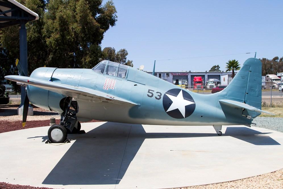 © Adam Duffield • Grumman FM-2 Wildcat 16278 - Flying Leatherneck Air Museum