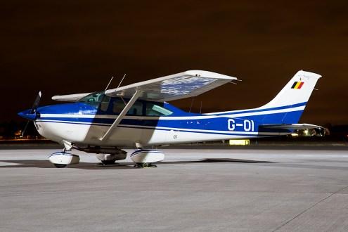 © Adam Duffield • Cessna Ce182Q • Northolt Nightshoot XVIIII