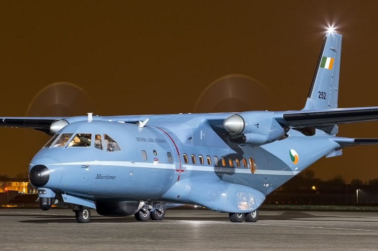 © Adam Duffield • CASA CN-235 '252' • Northolt Nightshoot XVIa