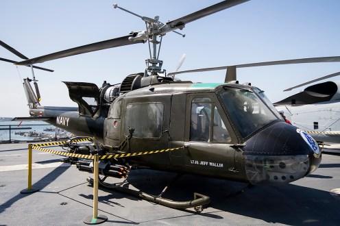 © Adam Duffield • Bell UH-1B 60-3614 • USS Midway Museum