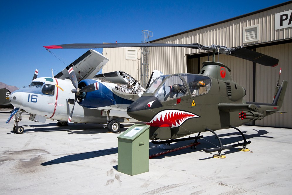 © Adam Duffield • Bell AH-1G 67-15574 & Grumman C-1A N7171M • Palm Springs Air Museum