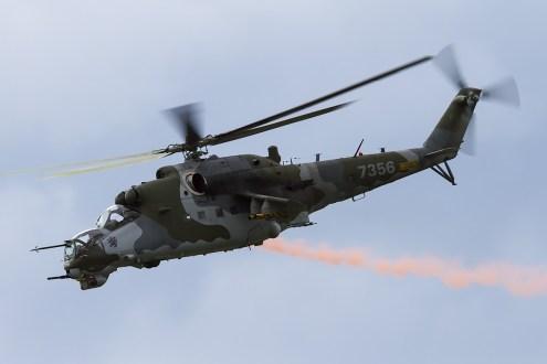 © Adam Duffield • Czech Air Force Mi-24V Hind • Air14 Payerne Weekend 1