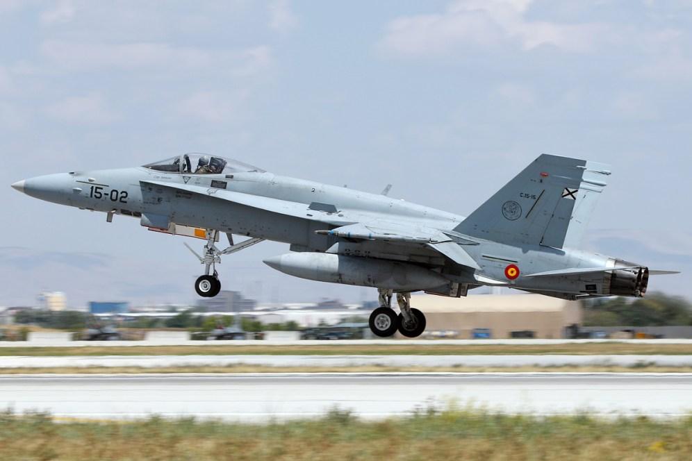 © Mark Kwiatkowski • Spanish Air Force F-18 C15-02 • Anatolian Eagle 2015