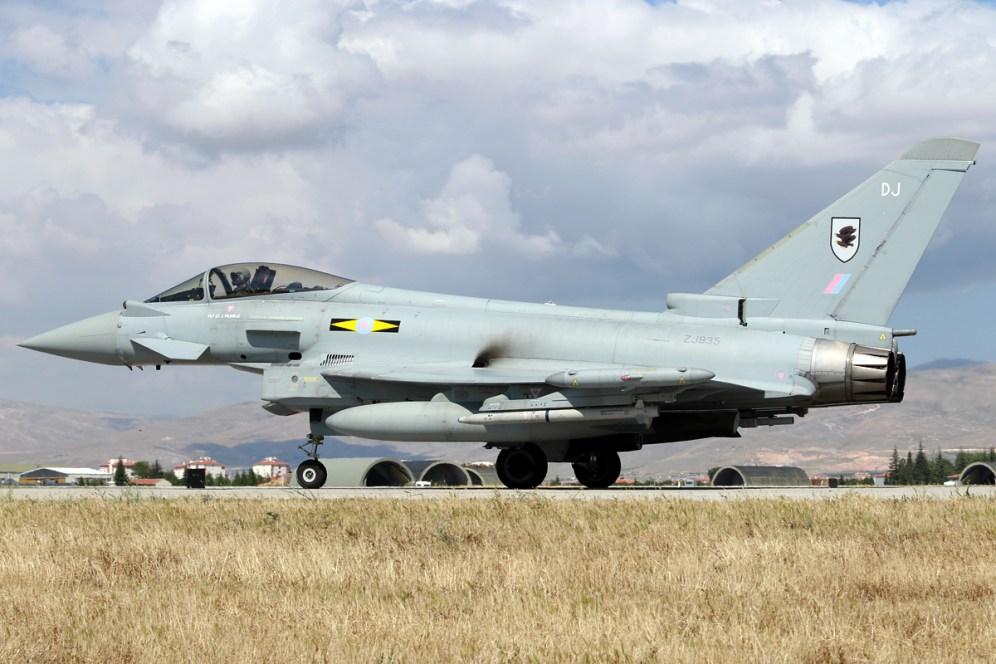 © Mark Kwiatkowski • RAF Typhoon FGR4 ZJ935 • Anatolian Eagle 2015
