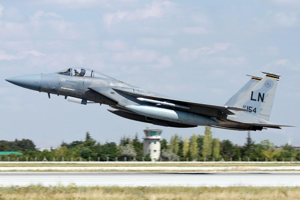 © Mark Kwiatkowski • USAF F-15C 86-0154 • Anatolian Eagle 2015
