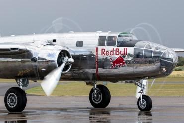© Adam Duffield • North American B-25 Mitchell N6123C • Flying Legends 2015