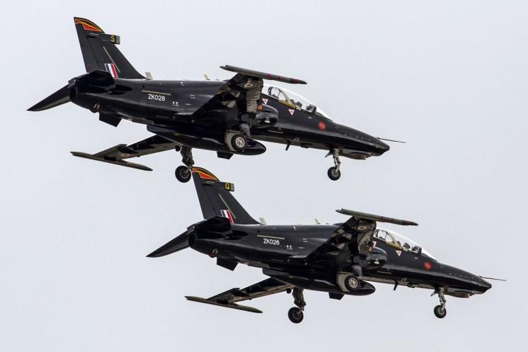 © Ben Montgomery • RAF Hawk T2 Demo • RIAT 2015