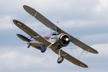 © Adam Duffield • Gloster Gladiator MkI N5903 • Flying Legends 2015
