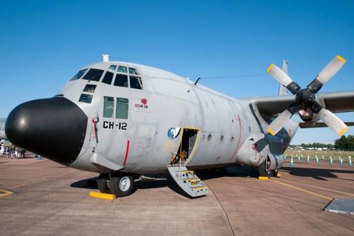 © Duncan Monk • Belgian Air Force C-130H • RIAT 2015