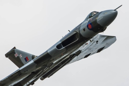 © Harry Measures • Avro Vulcan XH558 • Shuttleworth Military Pageant