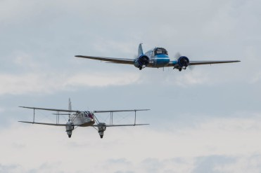 © Harry Measures • Avro Anson & Dragon Rapide • Shuttleworth Military Pageant
