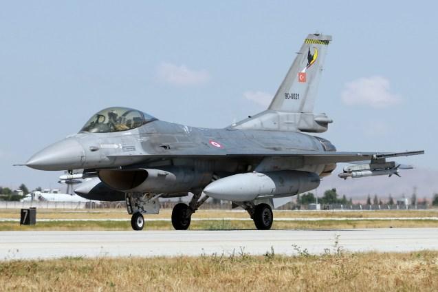 © Mark Kwiatkowski • TuaF F-16C 90-0021• Anatolian Eagle 2015