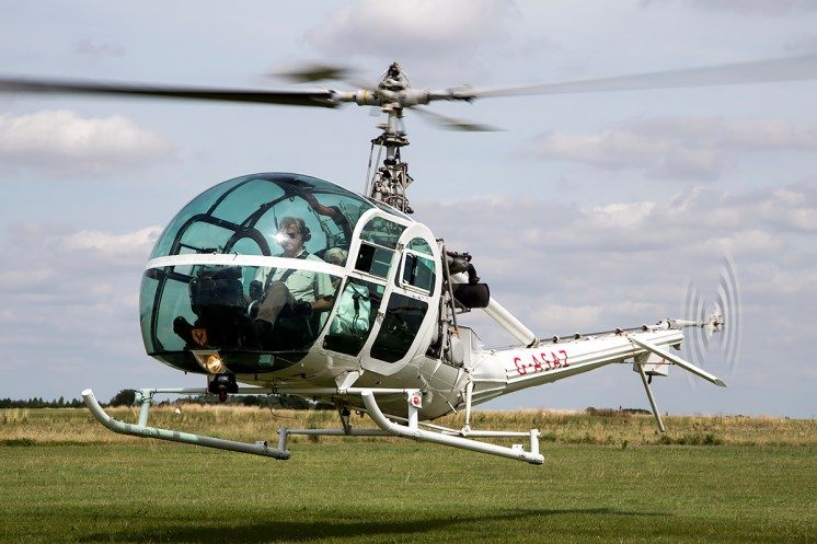 © Adam Duffield • Hiller UH-12E4 G-ASAZ • Old Buckenham Airshow 2015