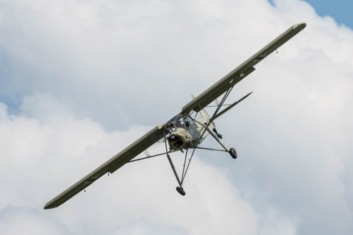 © Harry Measures • Fieseler Storch • Shuttleworth Military Pageant