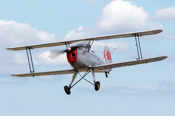 © Adam Duffield • Bucker Jungmann G-WJCM • Old Buckenham Airshow 2015