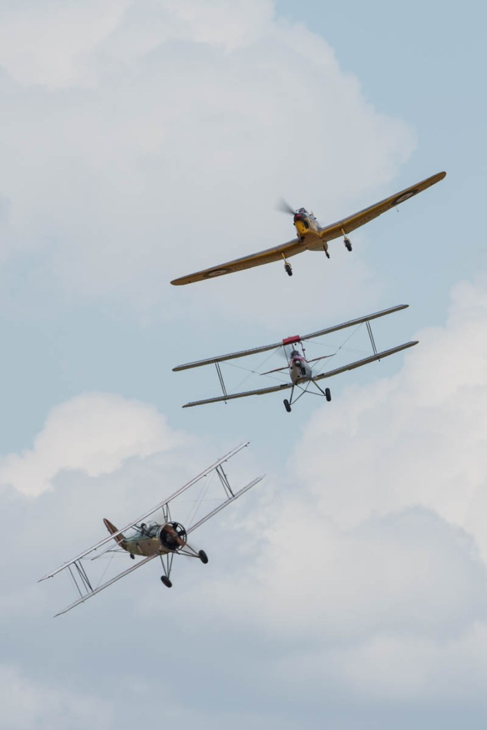 © Harry Measures • Trainer Trio • Shuttleworth Military Pageant