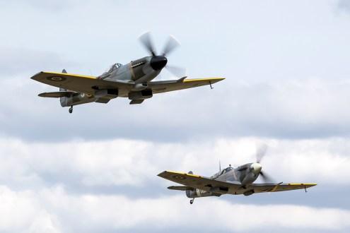 © Adam Duffield • Spitfire Formation • Flying Legends 2015