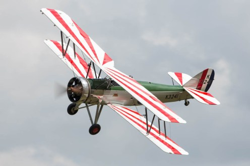 © Harry Measures • Avro Tutor • Shuttleworth Military Pageant