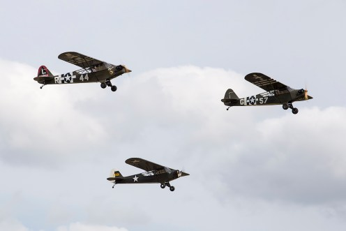 © Adam Duffield • Piper Cub Formation • Flying Legends 2015
