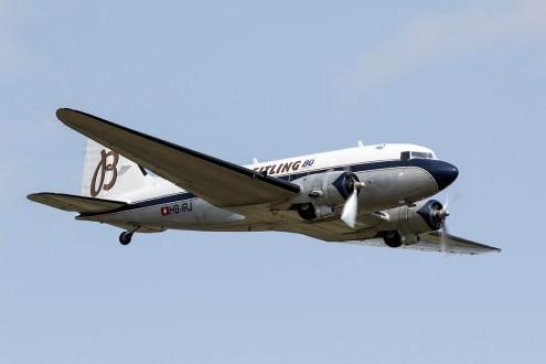 © Adam Duffield • Douglas DC-3 HB-IRJ • Flying Legends 2015