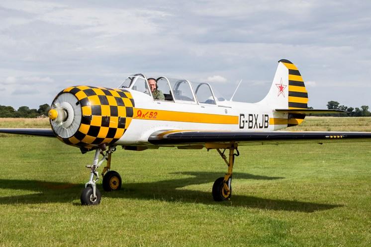 © Adam Duffield • Yakovlev Yak-52 G-BXJB • Old Buckenham Airshow 2015