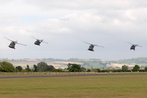 © Duncan Monk • Commando Role Demonstration AgustaWestland Merlin • RNAS Yeovilton Air Day 2015