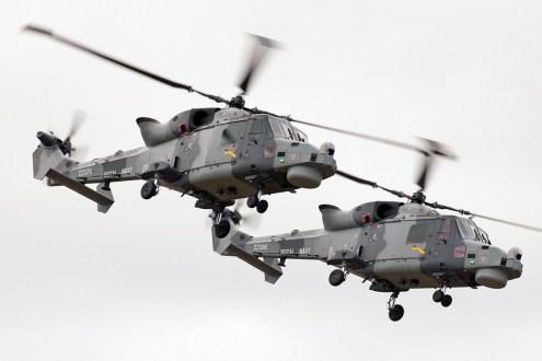 © Duncan Monk • Black Cats - AgustaWestland Wildcat HMA.2 • RNAS Yeovilton Air Day 2015