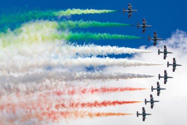 © Ben Montgomery • Frecce Tricolori • RNAS Culdrose Air Day 2015