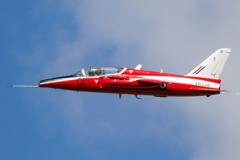 © Ben Montgomery • Folland Gnat T.1 XR538 • RNAS Culdrose Air Day 2015