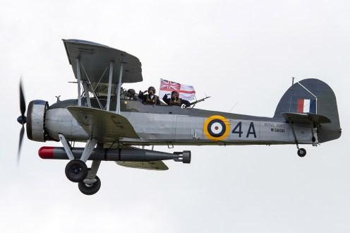 © Ben Montgomery • Blackburn Swordfish Mk.I W5856 • RNAS Culdrose Air Day 2015