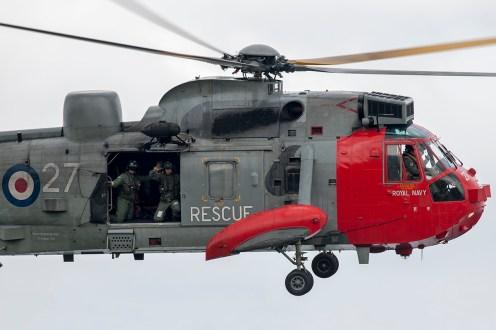 © Duncan Monk • Royal Navy Sea King XV673 • Dawlish Airshow 2015