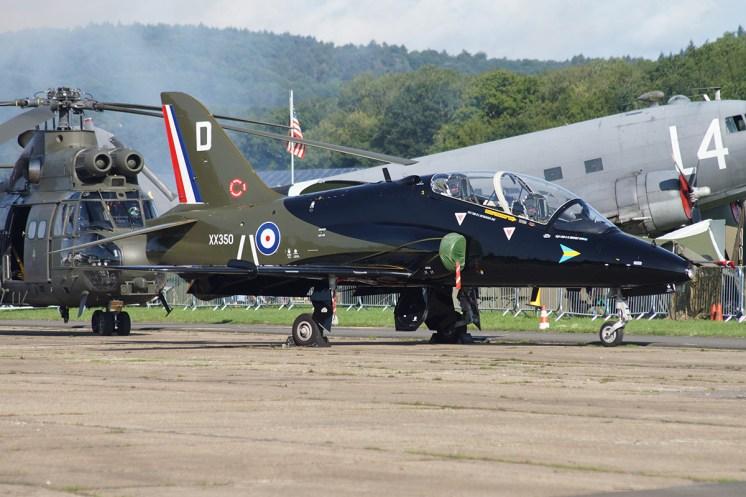 © Jamie Ewan • RAF Hawk T1 XX350 • Dunsfold Wings & Wheels 2015