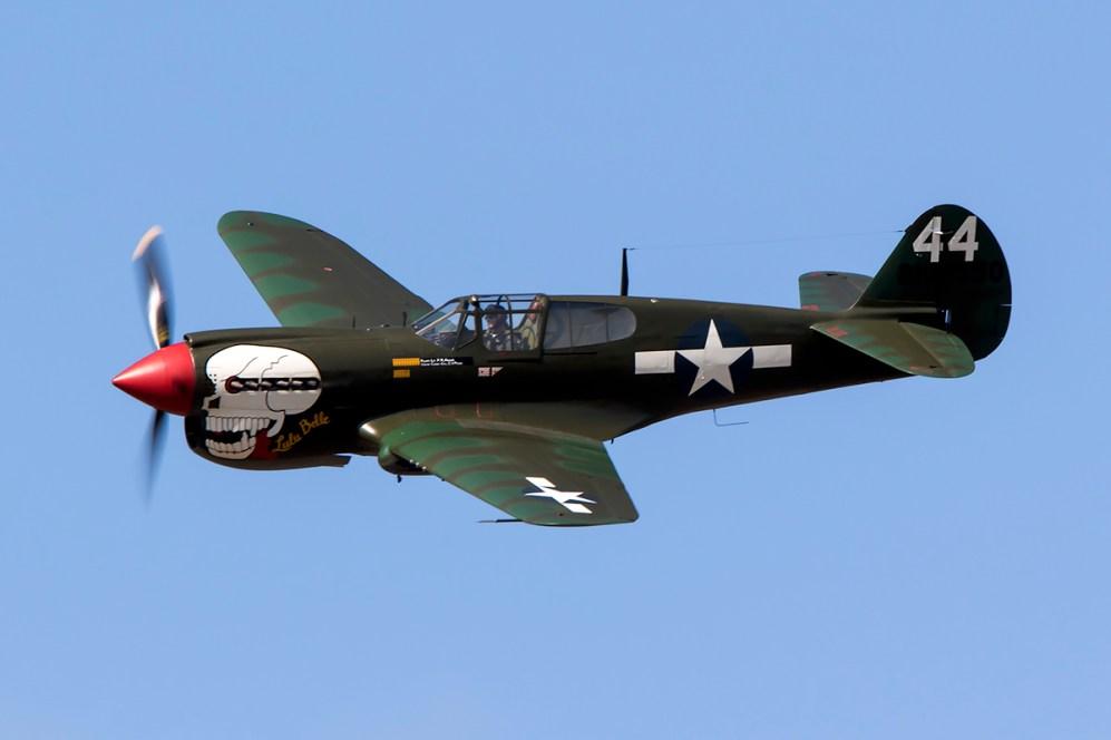 © Adam Duffield • Curtiss P-40M Kittyhawk G-KITT • Seething Charity Air Day 2015