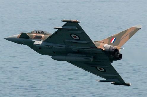 © Duncan Monk • RAF Typhoon FGR4 ZK349 • Dawlish Airshow 2015